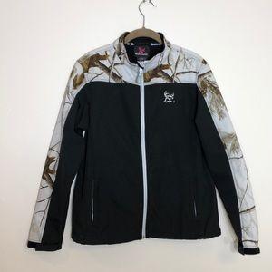 Bushmaster Realtree zip up jacket.